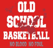 Old School Basketball Dark Kids Clothes