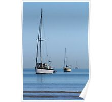 Line astern Poster