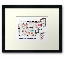 Apartment of Will Truman and Grace Adler Framed Print