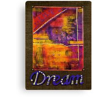 DREAM Banner Canvas Print