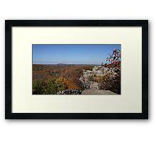 Camel Rock in Autumn Framed Print