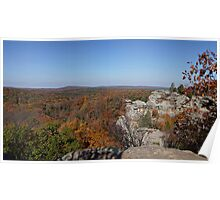 Camel Rock in Autumn Poster