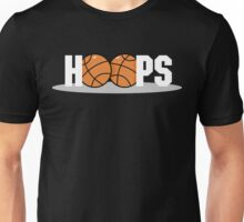 Basketball Hoops Dark Unisex T-Shirt