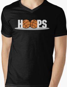 Basketball Hoops Dark Mens V-Neck T-Shirt
