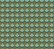 Fish Scales by TinaGraphics