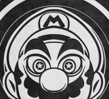 Super Mario Tripping Bros. Geek Line Artly  Sticker