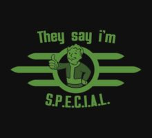 They Say I'm Special! - Fallout by snowcocktail