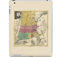 Old Map of New England (1777) iPad Case/Skin