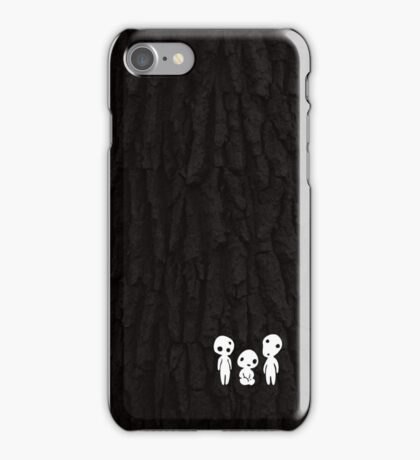 Kodama Tree Spirits iPhone Case/Skin