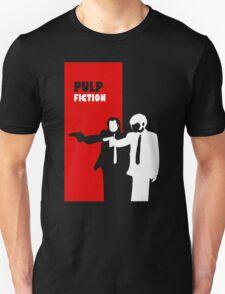 Pulp Fiction Stencil Art T-Shirt