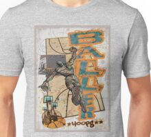 Baller Hoops Basketball Slam Dunker Unisex T-Shirt