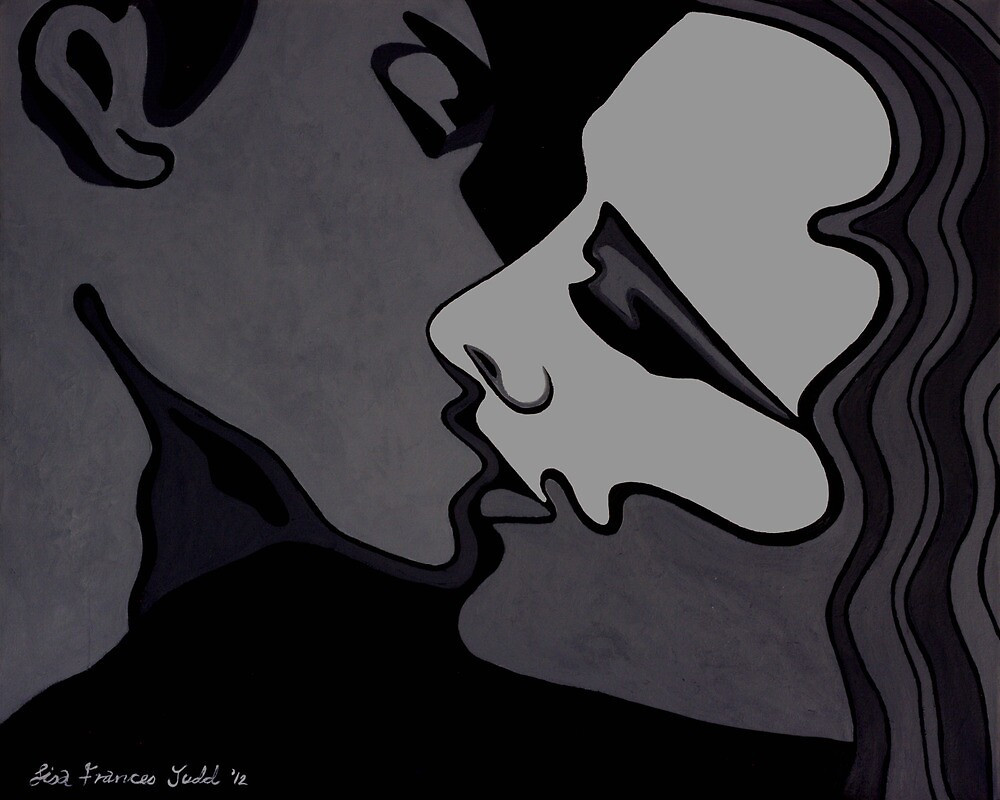 Midnight Lovers - Passion in monochrome by Lisafrancesjudd