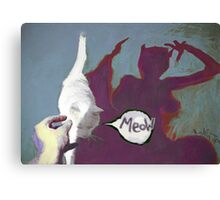 CatWoman Meow! Canvas Print