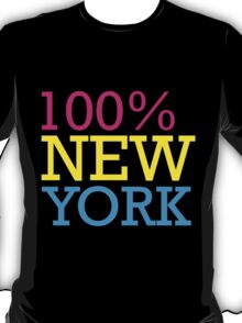 100% new york T-Shirt