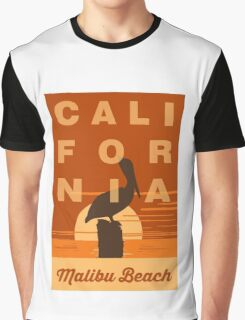 Malibu - California. Graphic T-Shirt