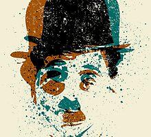 Charlie Chaplin by grafoxdesigns