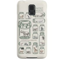 Protect Wildlife - Endangered Species Preservation  Samsung Galaxy Case/Skin