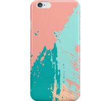 Pastel Colored Abstract Brush Strokes iPhone Case/Skin