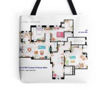 Apartments of Will Truman, Grace Adler and Jack MacFarland Tote Bag