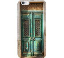 The Green Door iPhone Case iPhone Case/Skin