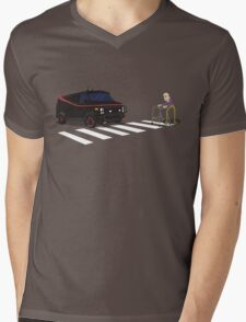 The A-Team Van Old Man Zimmer Frame Mens V-Neck T-Shirt