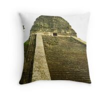 Stairs of the Incas Throw Pillow