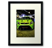 Ford Focus RS in HDR Framed Print