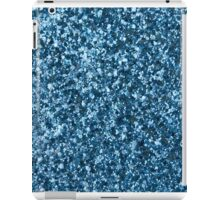 Blue Glitter iPad Case/Skin