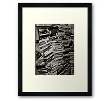 Books Framed Print