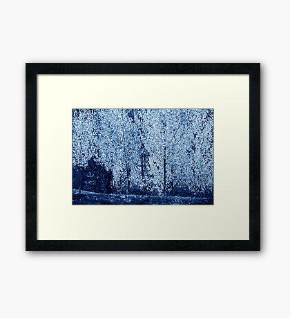Blue #4 Framed Print