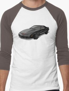 Knight Rider KITT Car Men's Baseball ¾ T-Shirt