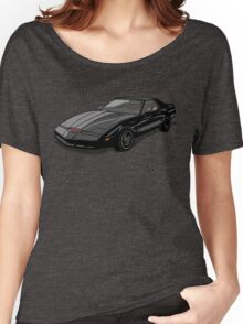 Knight Rider KITT Car Women's Relaxed Fit T-Shirt
