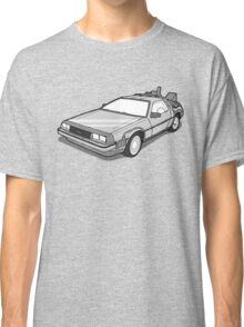 Back to the Future Delorean  Classic T-Shirt
