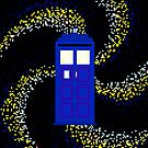 8Bit TARDIS by mikasierra