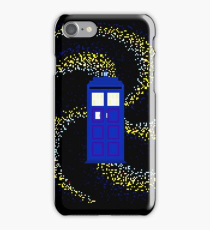 8Bit TARDIS iPhone Case/Skin