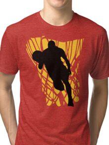 Basketball Player Tri-blend T-Shirt