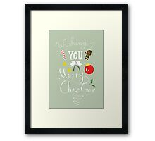 Wishing You A Merry Christmas Framed Print
