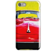 German Flag Porsche 356 Super 90 Red Black Yellow Gold iPhone Case/Skin