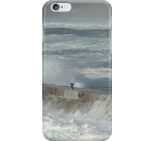 Storm Surge At Sennen Cove,Cornwall iPhone Case/Skin