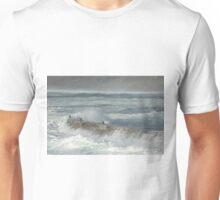Storm Surge At Sennen Cove,Cornwall Unisex T-Shirt