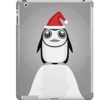 Festive penguin iPad Case/Skin