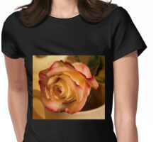 BI COLOR DRAMATIC ROSE Womens Fitted T-Shirt
