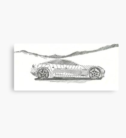 The Parallel Car Canvas Print