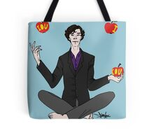 A. Shappey's Apple-Tossing: an Experiment in Happiness Tote Bag