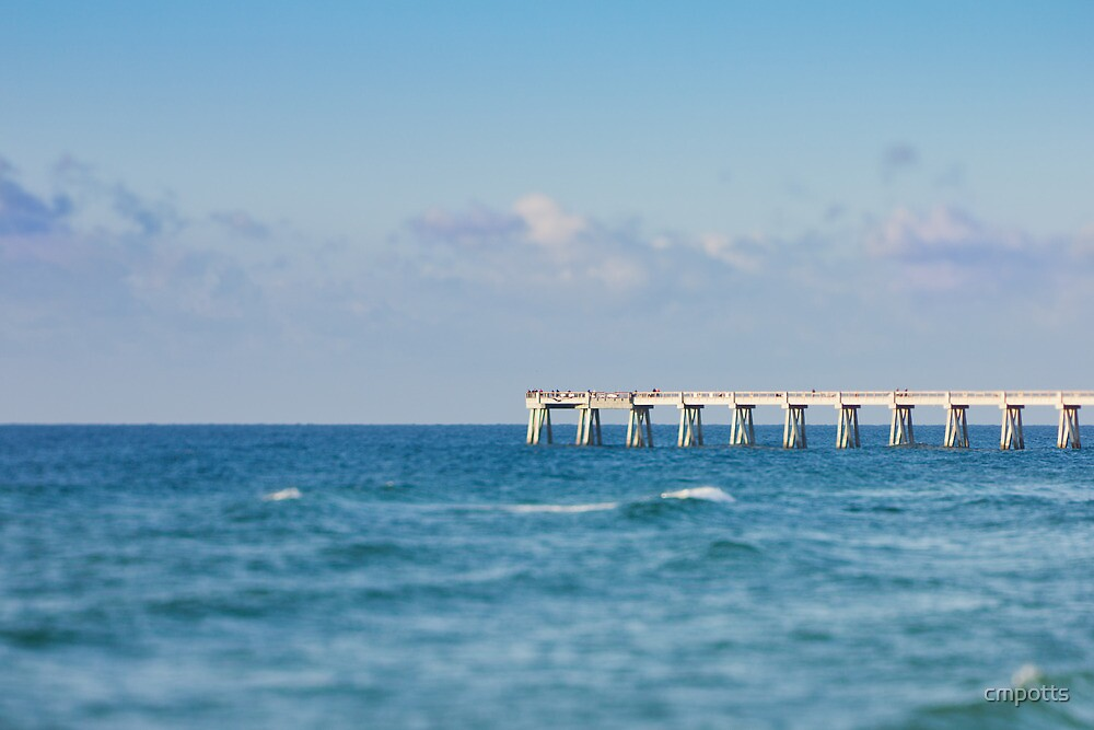 Navarre Pier, Florida by cmpotts