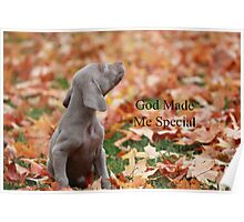 God Made Me Special Poster