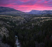 Pink Sunrise by Rob Atkinson