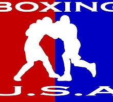 U.S.A. Boxing logo by Euvari