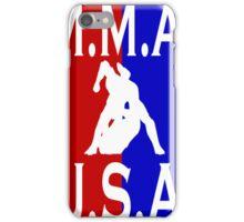 U.S.A. M.M.A. logo 3 iPhone Case/Skin