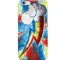 Rainbow Dash Fractal Flame Effect iPhone Case/Skin